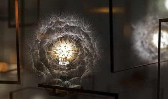 Светильники в виде одуванчиков