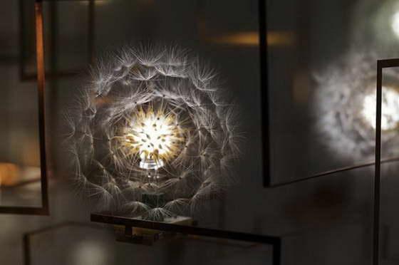 Светильники дизайнерские в виде одуванчиков