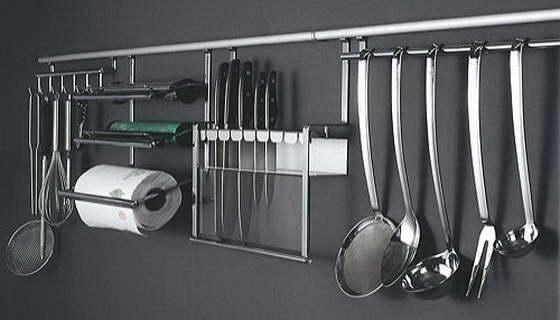 Аксессуары для рейлинга на кухню