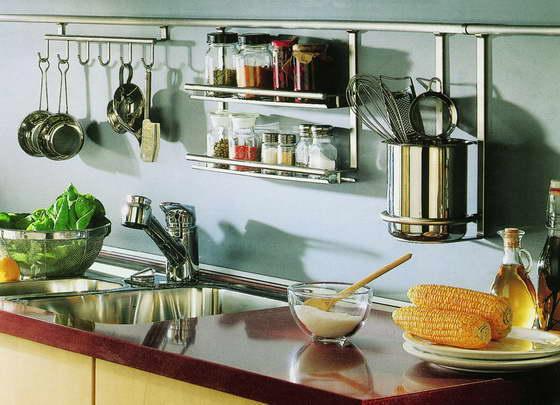 Навесное оборудование для рейлингов кухни