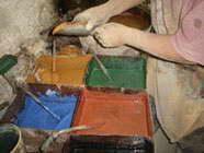Цементная плитка для отделки пола и стен