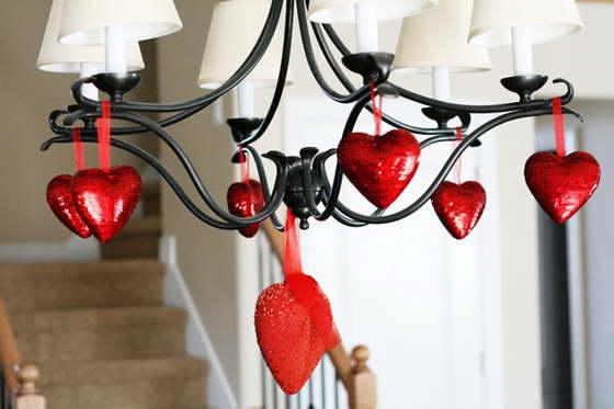 Интерьер в День Святого Валентина