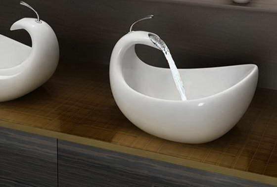 Необычная раковина от Amin Design