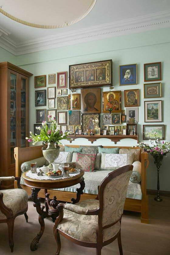 Гостиные в классическом стиле photo