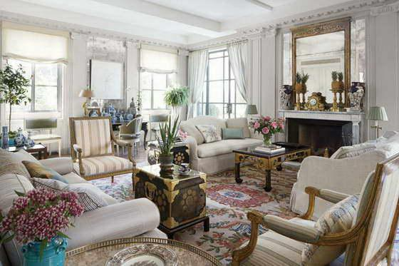 Гостиные в классическом стиле