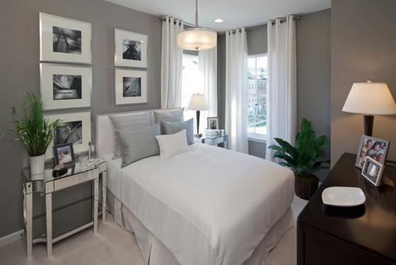 белая спальня дизайн интерьера