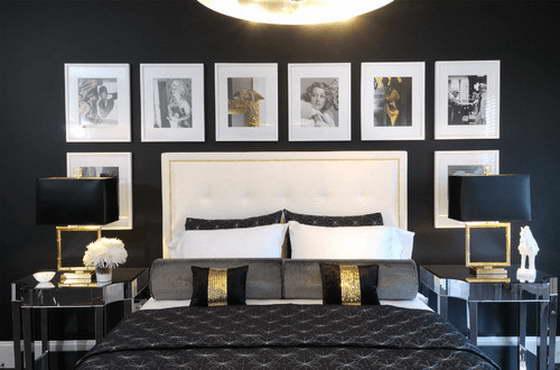 интерьер спальни в белом стиле