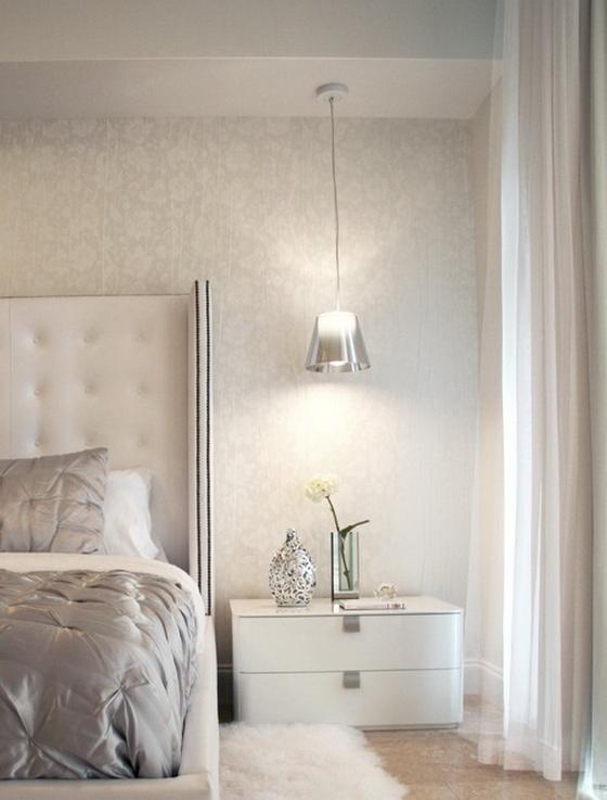 белая спальня в интерьере фото