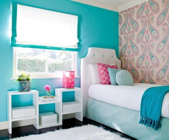 современная комната для девочки подростка