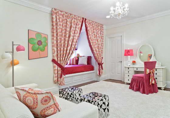 комната девочки подростка дизайн интерьера