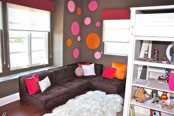 белая комната для девочки подростка