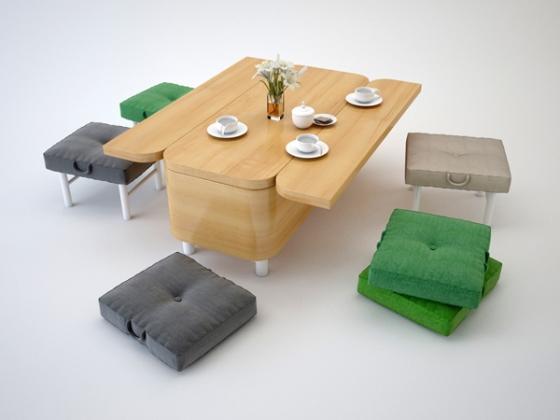 Диван трансформер. Мебель для маленьких квартир