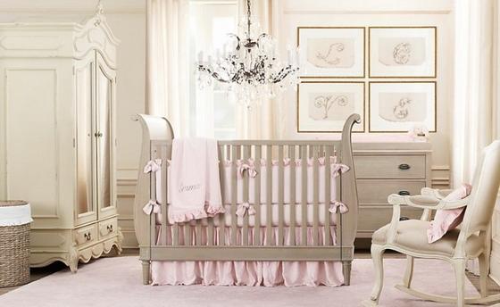 детская комната для новорожденного малыша