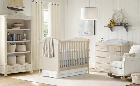 дизайн детской комнаты новорожденного фото