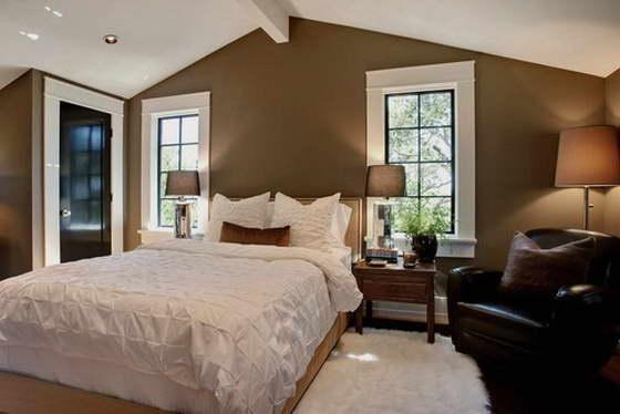 Цвет спальни влияет на сон