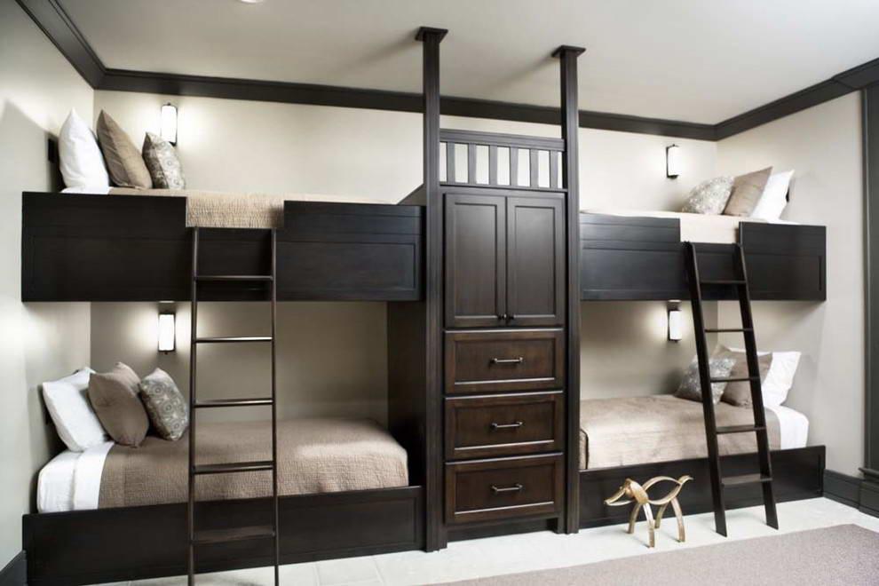 спальное место для четверых детей