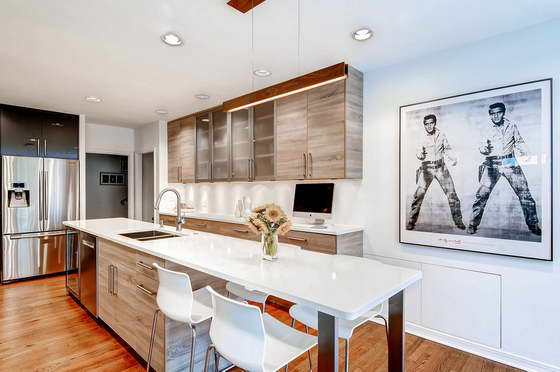 дизайн современных светлых тонах фото кухни
