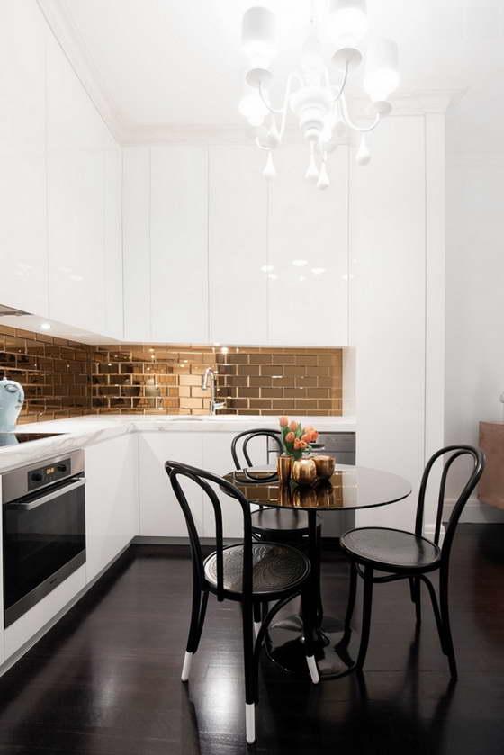 кухни в квартирах дизайн современный