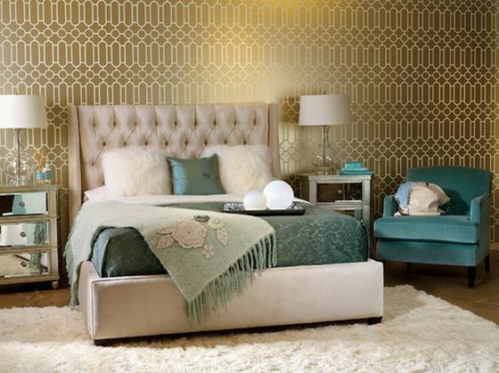 Яркие спальни