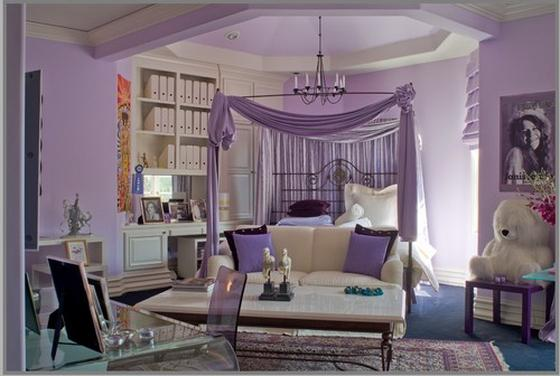 интерьер комнаты для подростка девочки