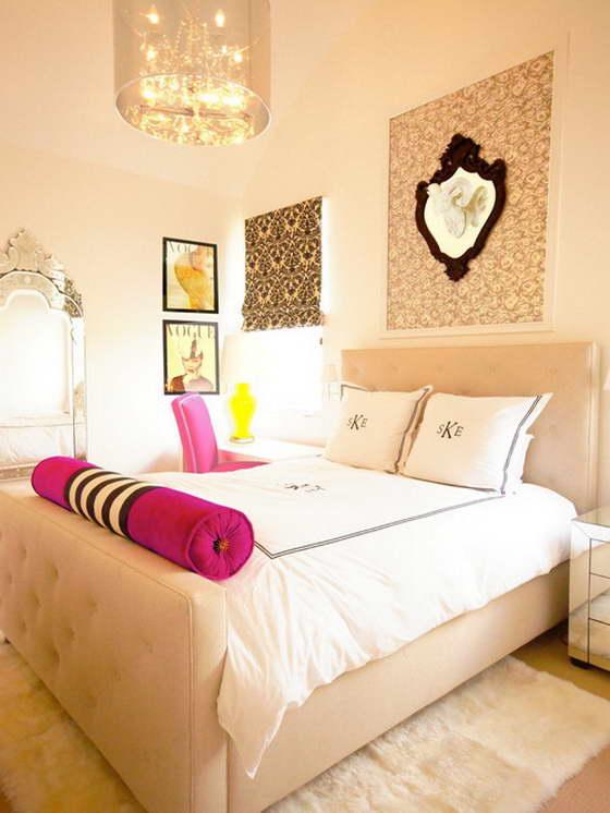 маленькая комната для девочки подростка