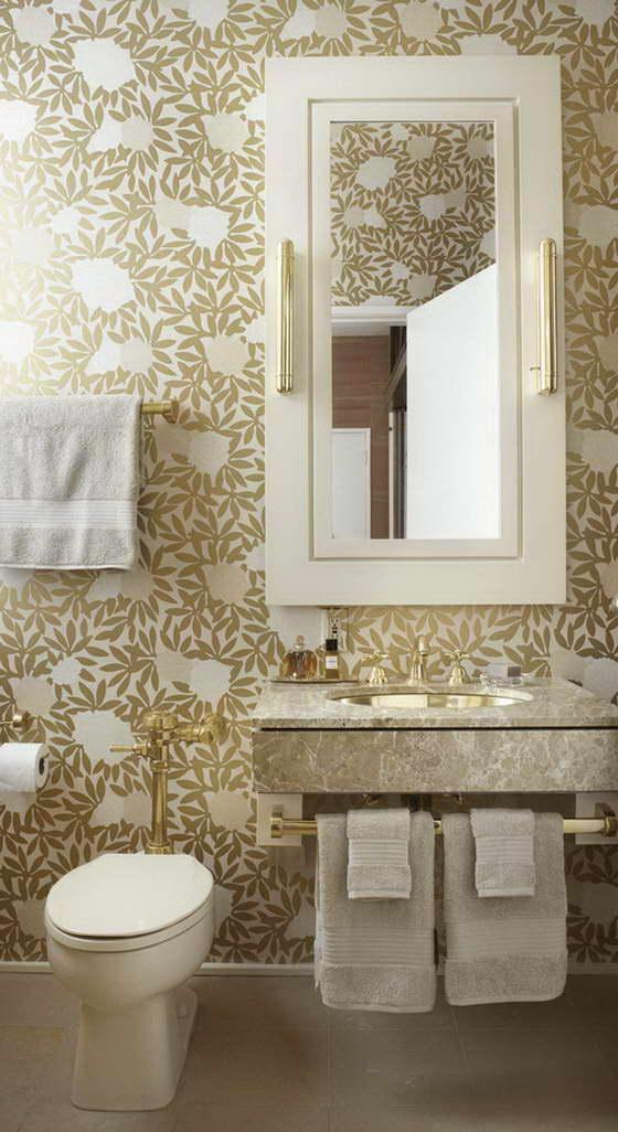 Интерьер в золотом цвете