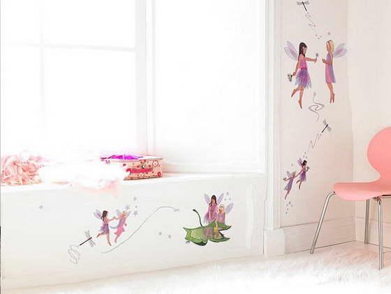 оформление детской зоны в комнате