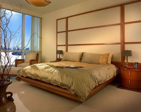 японский стиль в интерьере гостиной