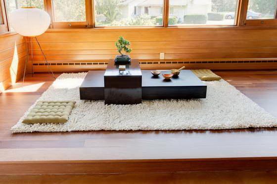 японский стиль в интерьере фото