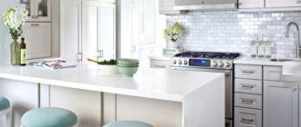 Искрящаяся кухня. До и после photo