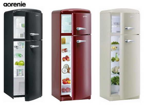 холодильник в ретро стиле купить