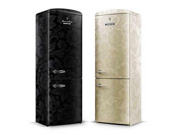 ретро холодильник недорогой