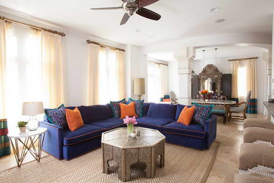 Марокканский стиль в интерьере техасского особняка