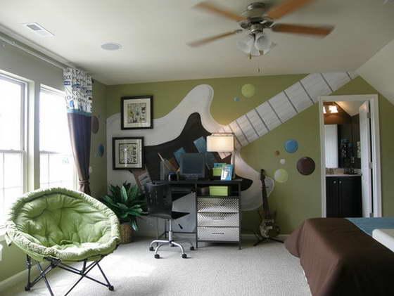 комната подростка мальчика 14 лет