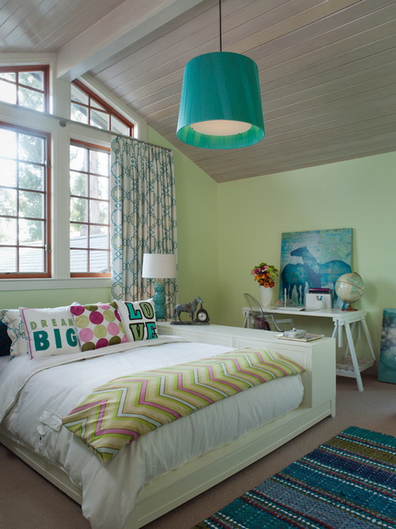 комната для девочки подростка в современном стиле