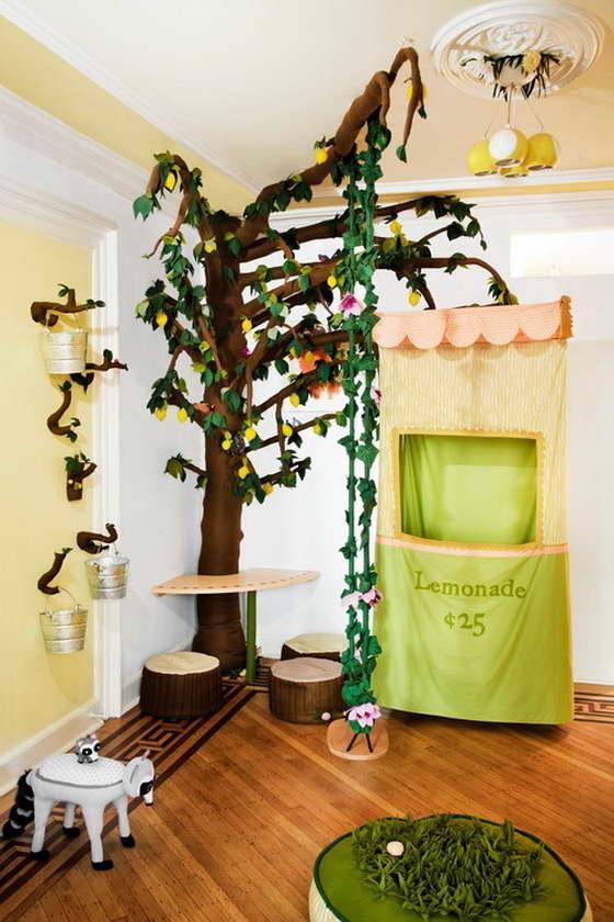 Напольное покрытие для детской комнаты
