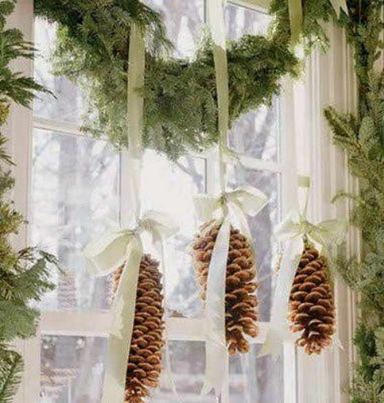 Как украсить к Новому году маленькие квартиры
