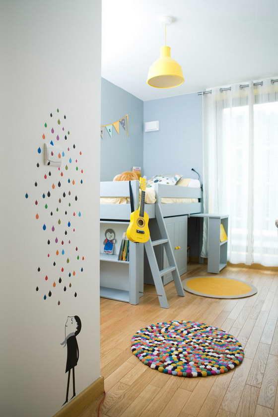 Чем отделать стены в детской
