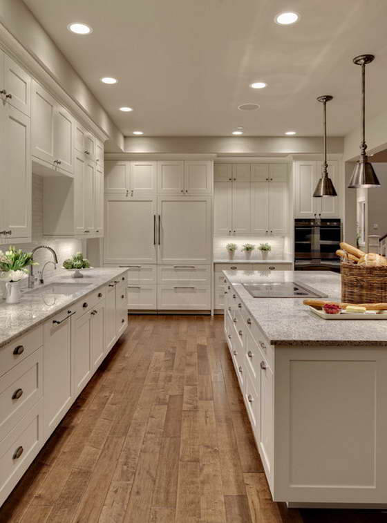 Планировка кухонной рабочей поверхности