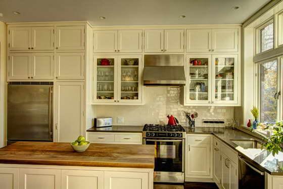 Планировка кухни: рабочий треугольник photo
