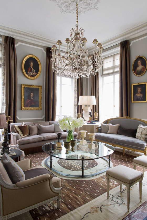 Квартира в стиле Людовика XVI