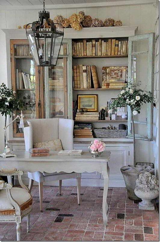 интерьер комнаты в стиле прованс