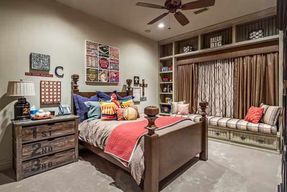 стиль комнаты для подростка мальчика