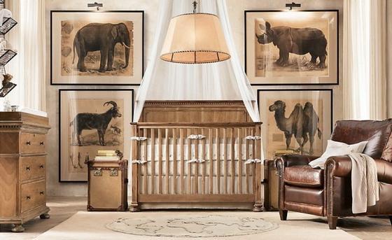 детские комнаты новорожденных девочек