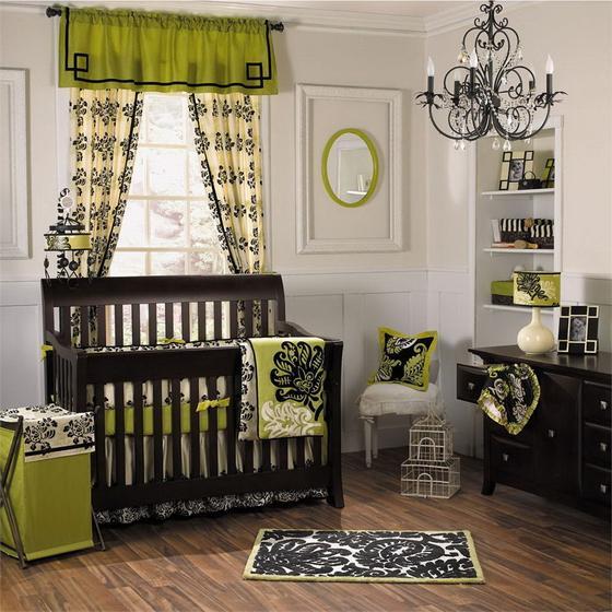 детская комната для новорожденной дочки