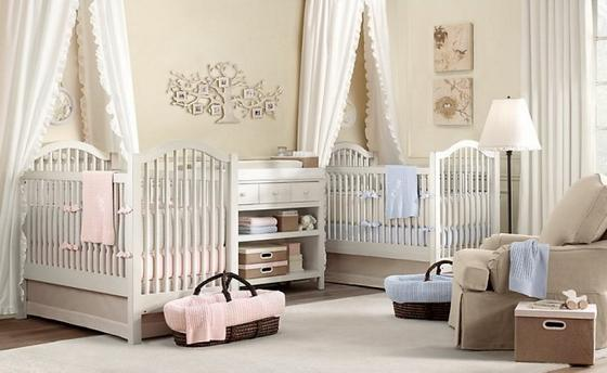 детская комната для новорожденного интерьер