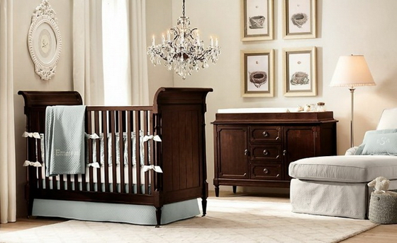 как обустроить детскую комнату для новорожденного
